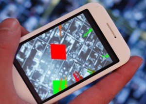 handheld augemented reality with paper maps